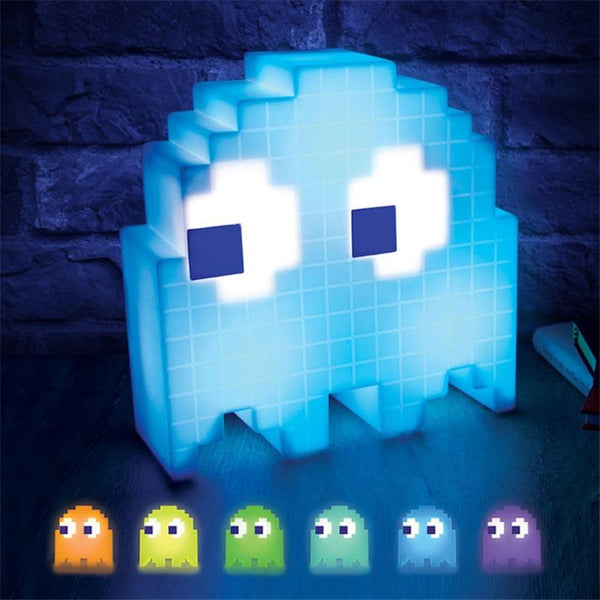 Pac-Man Pixel Night LED Light
