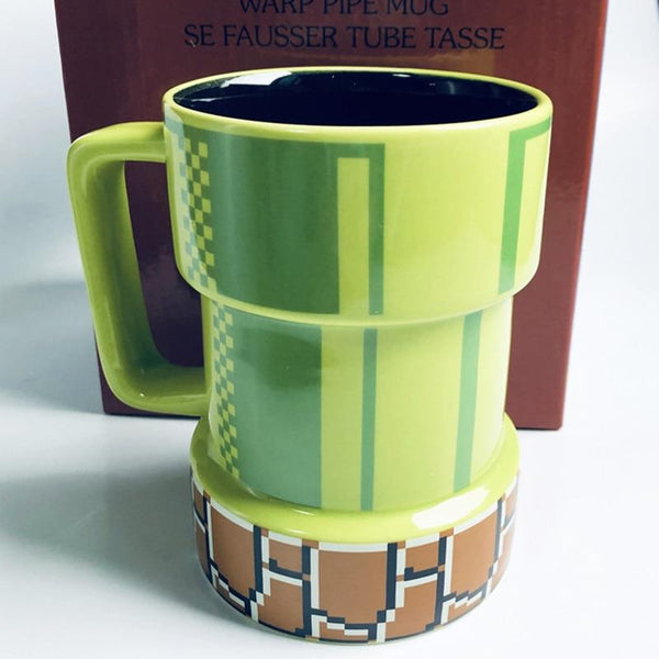 Creative 420mL Super Mario Apertures Shape Coffee Mug