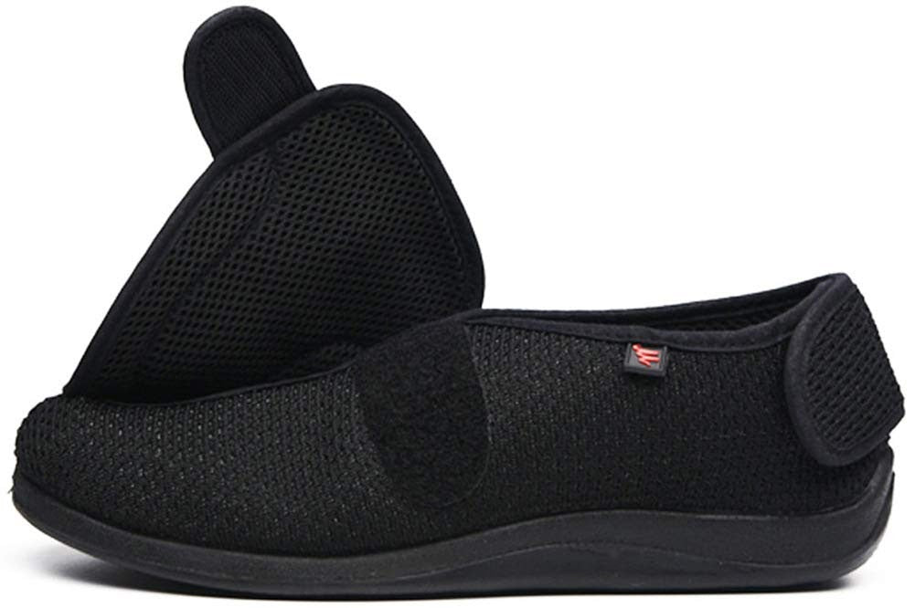 JIONS Adjustable Velcro Extra Wide Shoes
