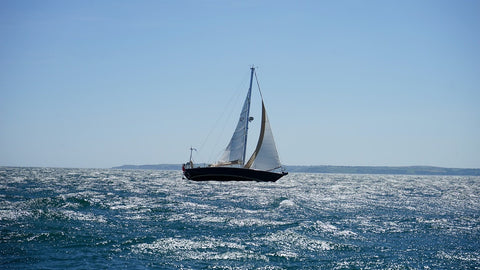 Sailing in sea