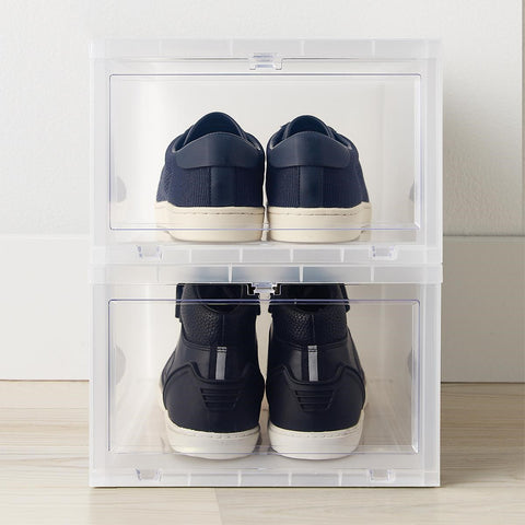 Drop-Front Shoe Box