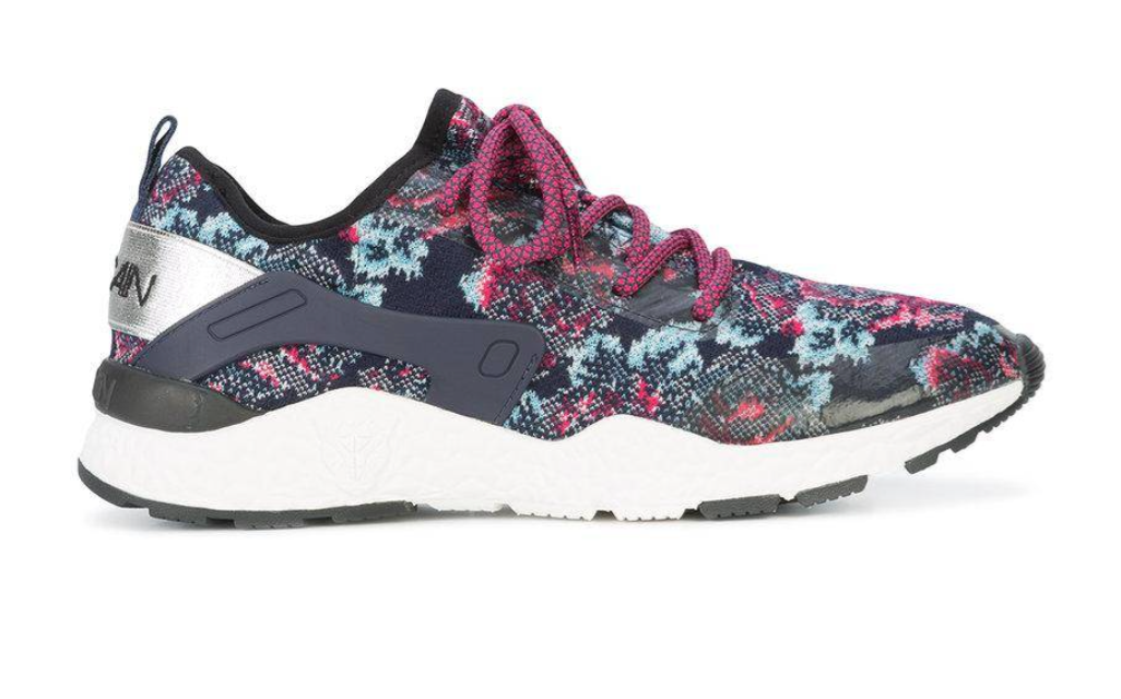 Marc Cain Floral Knitted Sneakers