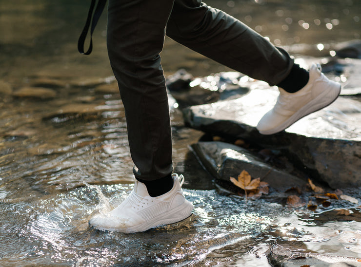 Loom Waterproof Sneakers for Men - White