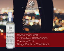Load image into Gallery viewer, LOVE POTION #2! All Natural Body Sprays Using Bach Flower Remedies and other powerful remedies and Essential Oils of Rose, Vetiver, Eucalyptus to help you open to Relationships, Trust, Confidence & Open Heart to Love | Strongest Minds
