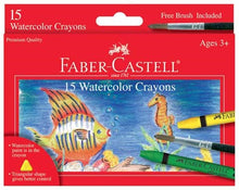 Load image into Gallery viewer, 15ct Watercolor Crayons