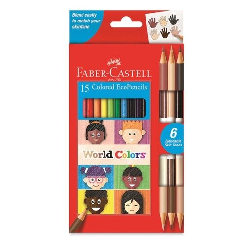 EcoPencils Colored 15 count