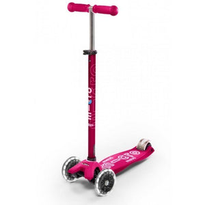 MAXI Deluxe Pink LED Scooter