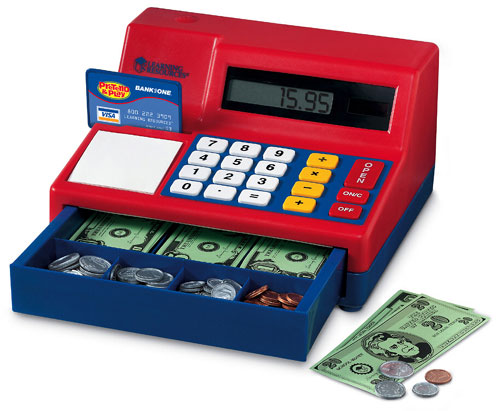 Pretend & Play Cash Register