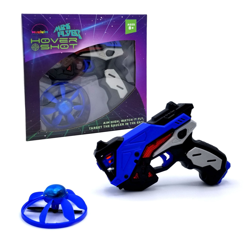 Mini Flyer Hover Shot Game with Mini LED Flying Target Drone