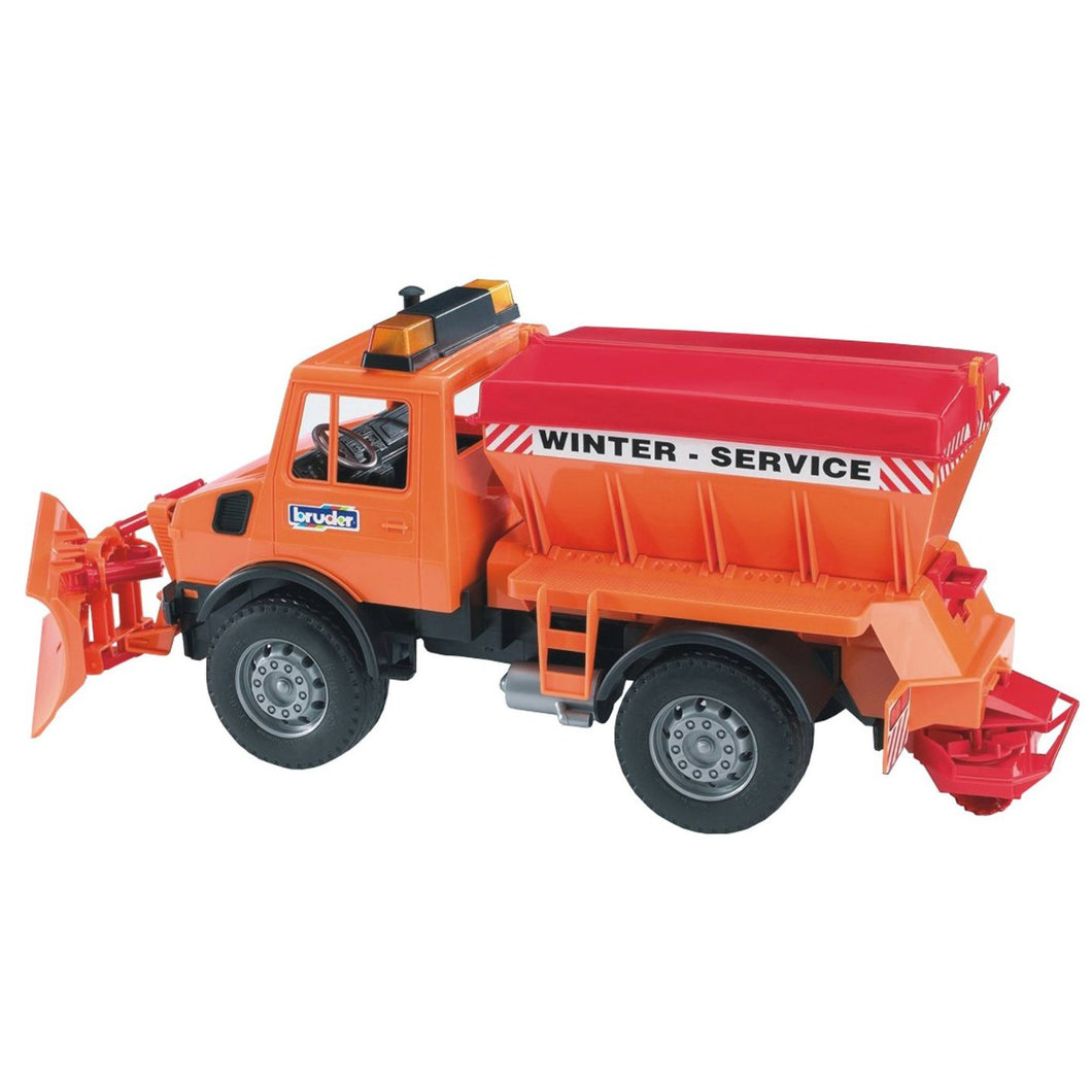 Bruder 02572 MB Unimog with Snow Plow