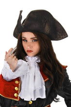 Load image into Gallery viewer, Scallywag Pirate Hat - Black