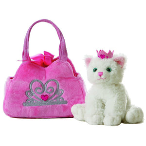 "Aurora Fancy Pals - 7"" Princess Kitty Pet Carrier"