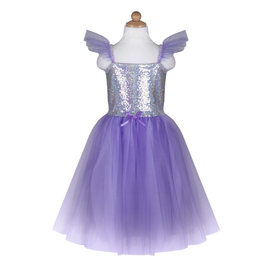 Great Pretenders Lilac Sequin Princess Dress, Ages 3-4