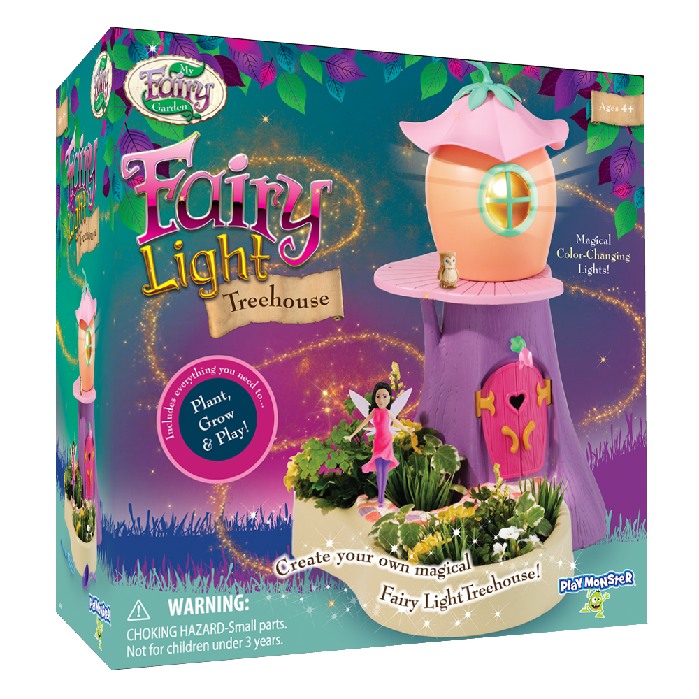 Fairy Light Treehouse