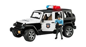 Jeep Rubicon Police Car