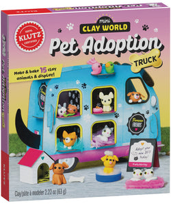 Klutz: Mini Clay World Pet Adoption Truck