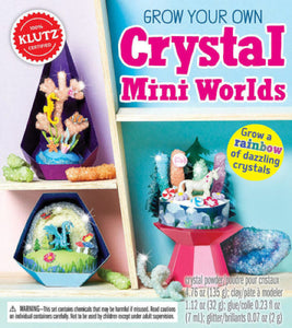 Klutz: Grow Your Own Crystal Mini Worlds