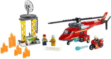 Load image into Gallery viewer, City Fire Rescue Helicopter 60281
