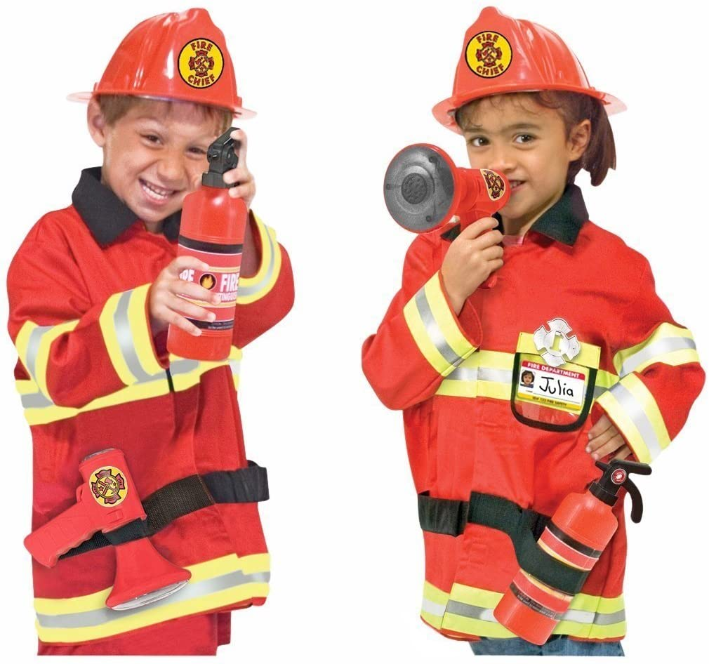 Fire Chief Costume Role Play