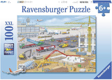 Load image into Gallery viewer, Ravensburger 10624 Construction at The Airport