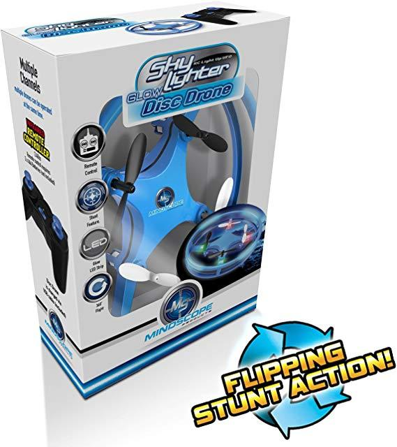 Sky Lighter Disc Drone Blue