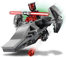 Load image into Gallery viewer, LEGO Star Wars Sith Infiltrator Microfighter 75224