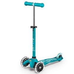 Mini Deluxe Aqua LED Scooter