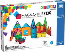 Load image into Gallery viewer, Magna-Tiles 48 Pc Clear Colors