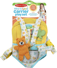 Load image into Gallery viewer, Baby Carrier Play Set