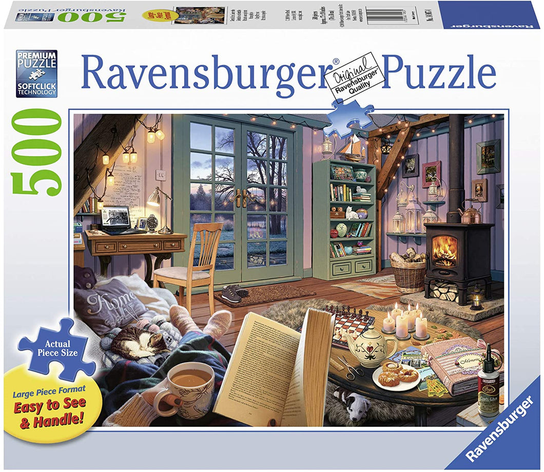 Cozy Retreat - 500 Piece Large Format Puzzle