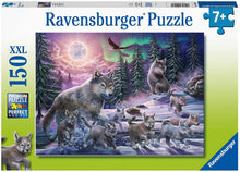 Load image into Gallery viewer, Northern Wolves - 150 Piece Puzzle
