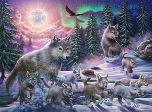 Northern Wolves - 150 Piece Puzzle