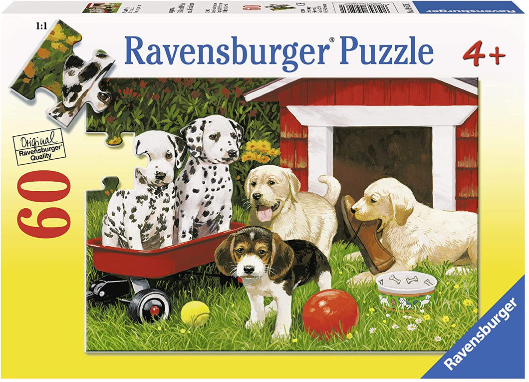Ravensburger Puzzle 60 piece Puppy Party