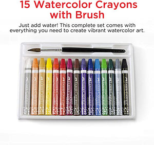 15ct Watercolor Crayons