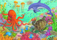 Load image into Gallery viewer, Ravensburger Ocean Friends Puzzle 35 piece 08780
