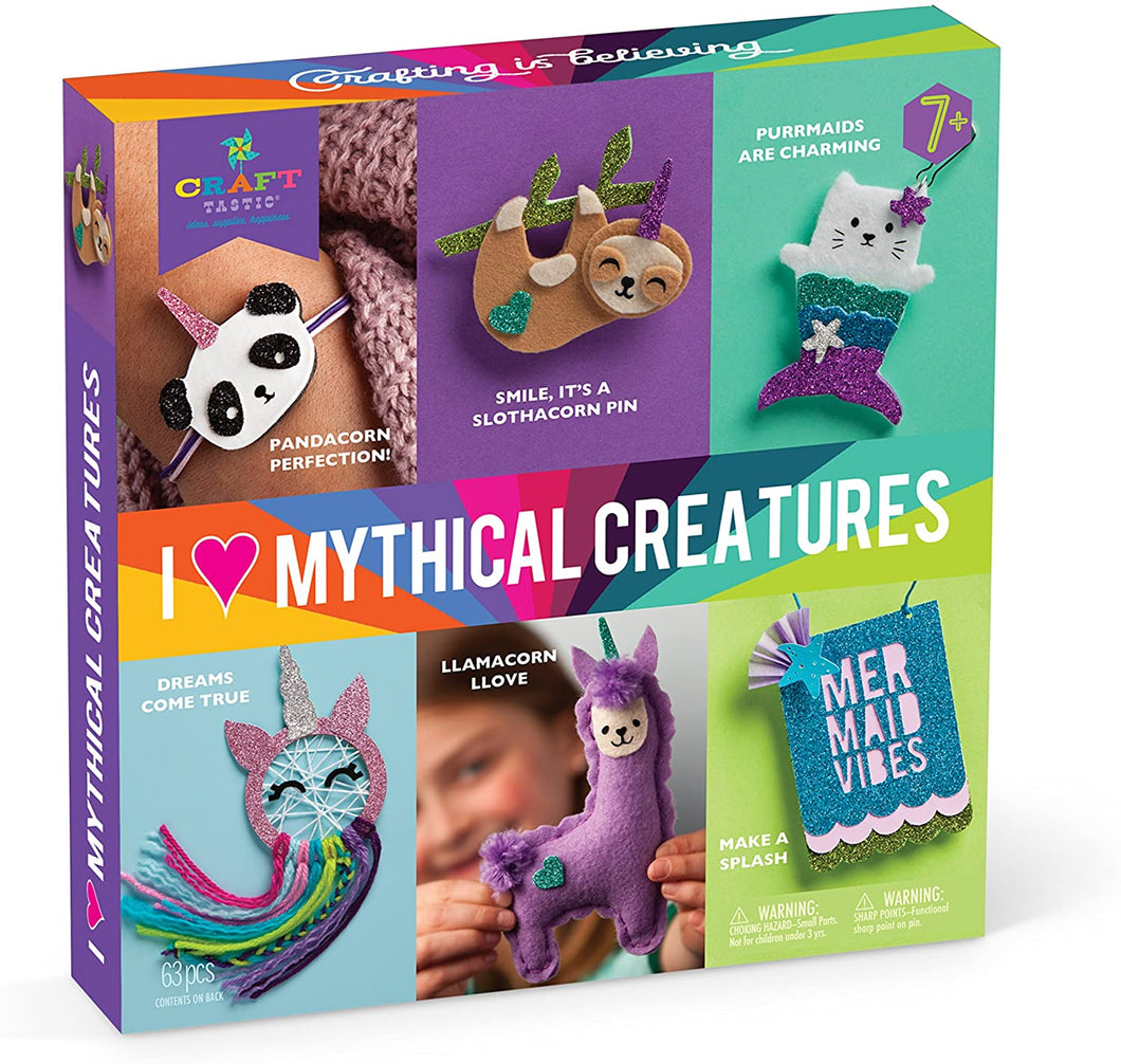 I Love Mythical Creatures Kit