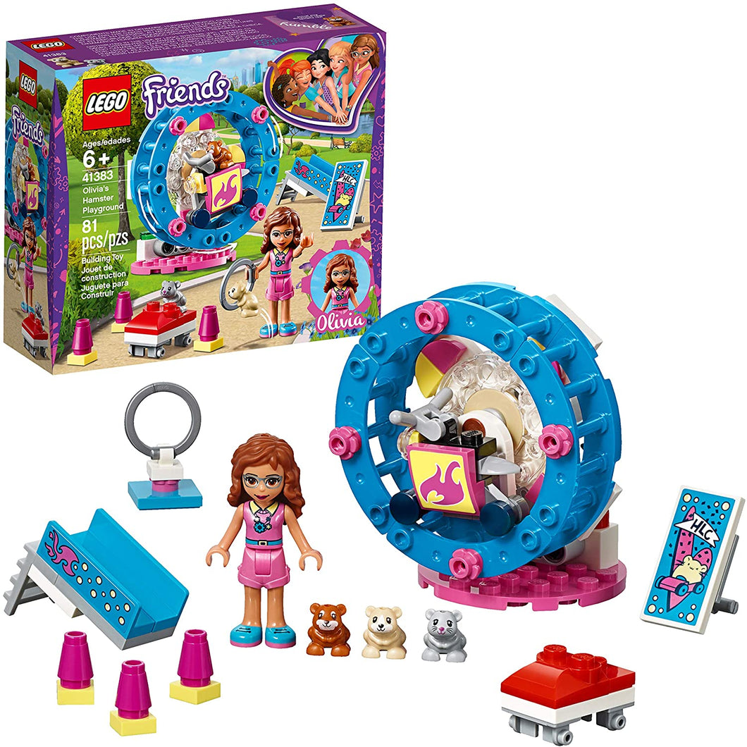 LEGO Friends Olivia's Hamster Playground 41383