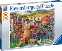 Load image into Gallery viewer, Ravensburger 15036 Cute Dogs in The Garden