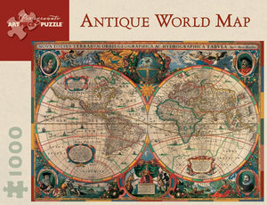 Antique World Map 1000 piece