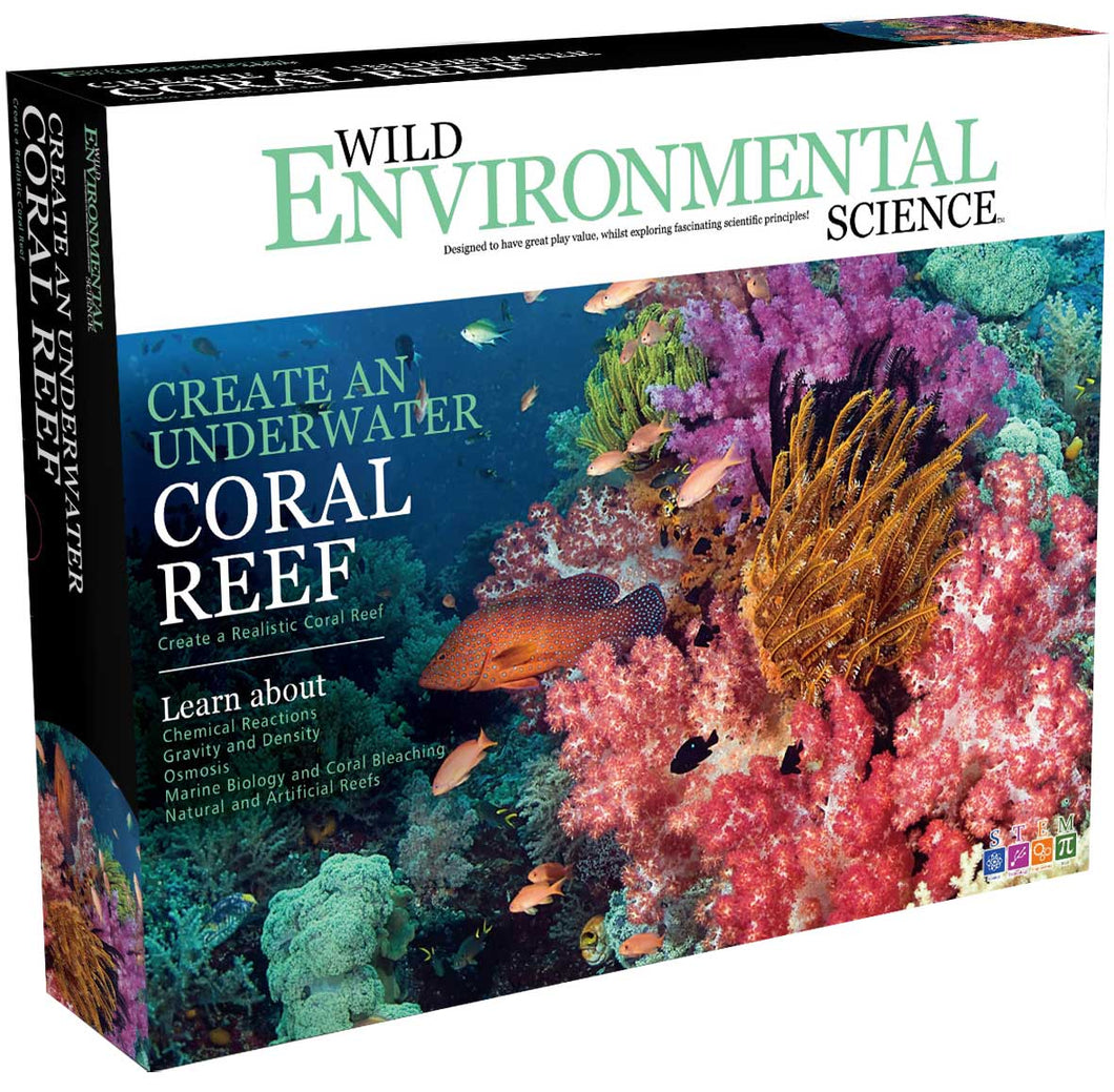 Create a Coral Reef - Wild Environmental Science
