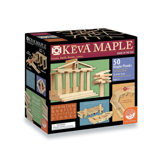 KEVA 50 Maple Planks