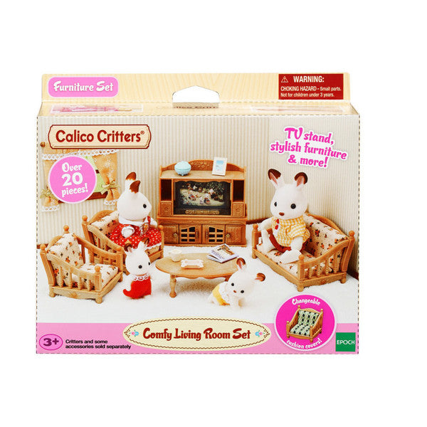 Comfy Living Room Set - Calico Critters