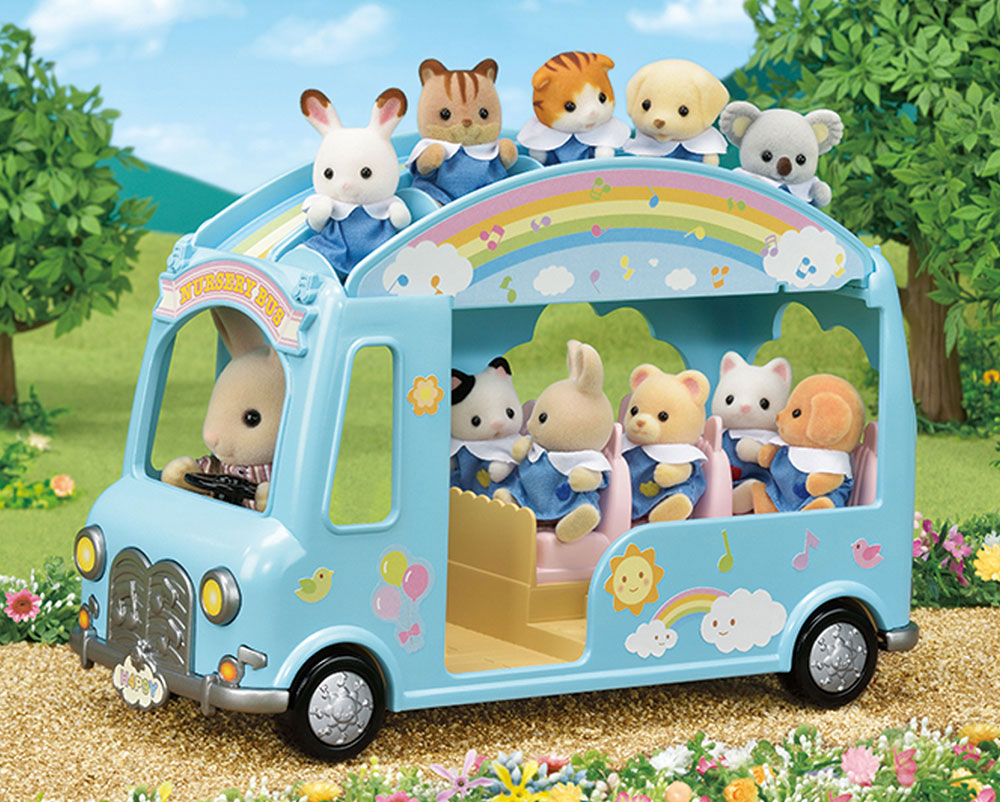 Sunshine Nursery Bus - Calico Critters