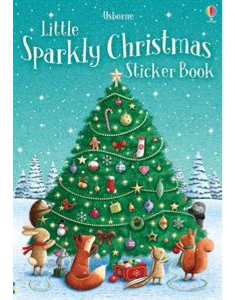 LITTLE SPARKLY STICKER BOOK CHRISTMAS