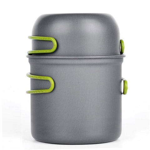 Handy Outdoor Goods Camping Cookware [CAN USE FOR UP TO 2 PEOPLE]