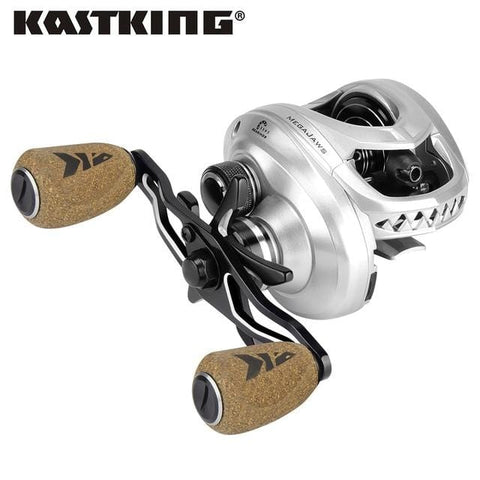 Handy Outdoor Goods Silver / Left Hand Fishing Reel with 4 Gear