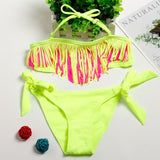 Handy Outdoor Goods Yellow / 11-12years Swimsuit For Girls