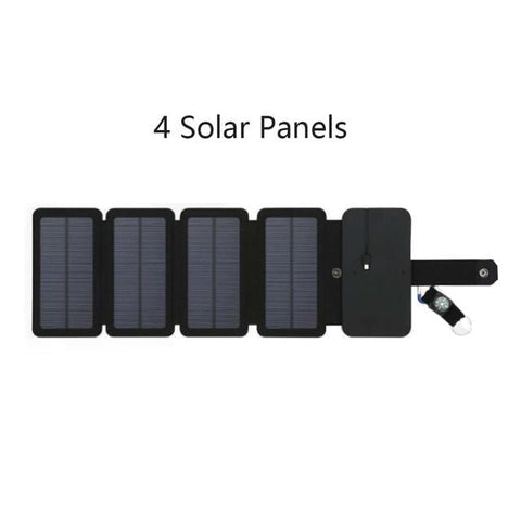 Handy Outdoor Goods 4 fold Outdoor Solar Panels for Smartphones