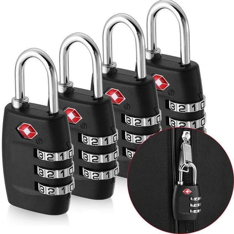 Handy Outdoor Goods Multi 4pcs customs password lock