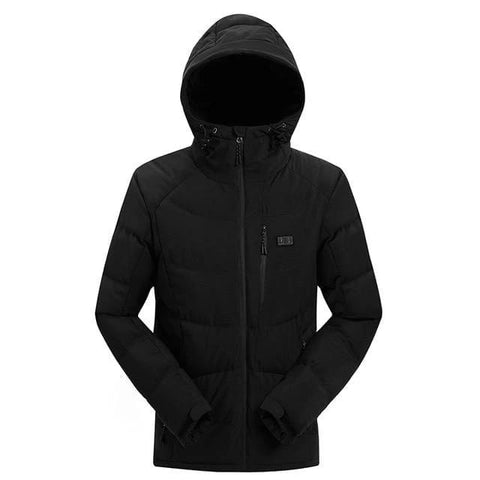 Handy Outdoor Goods black / 170 Men Winter Outdoor Heated Jacket